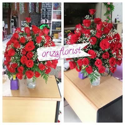 toko bunga mawar merah di surabaya, jual bouquet bunga surabaya