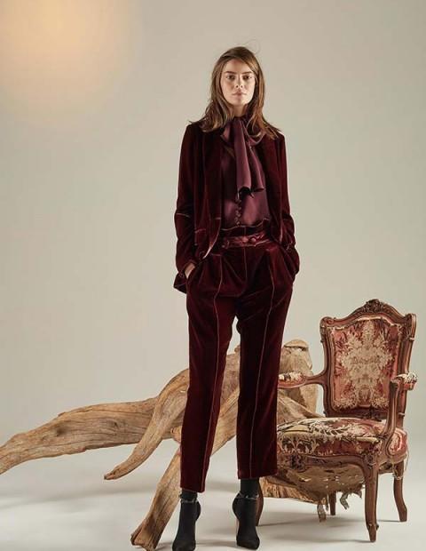 Women Fashion Girls Dress Erin Fetherston Fall Winter