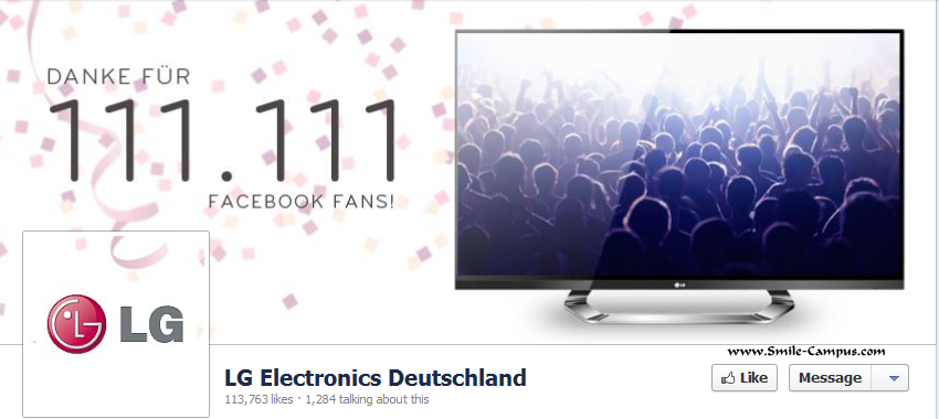 LG on Facebook