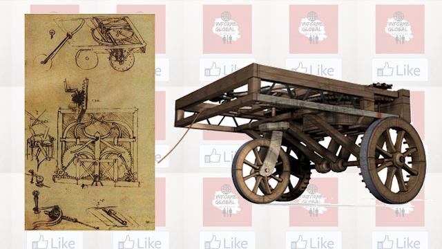 Carro Inventado por Leonardo