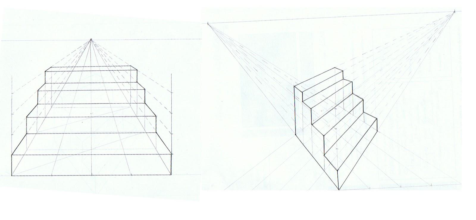 comment dessiner des marches d escalier. Black Bedroom Furniture Sets. Home Design Ideas