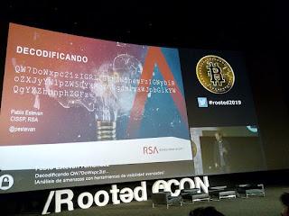 RootedCon 2019 - Pablo Estevan - DECODIFICANDO