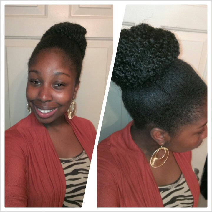 Natural Hair Style How To Create A Marley Bun Tutorial Classycurlies Diy Clean Beauty And Healthy Living