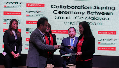 SMART-i GO MALAYSIA AND FLEXIROAM X IN STRATEGIC PARTNERSHIP TO PROVIDE MOBILE DATA ROAMING FACILITY FOR TRAVELERS