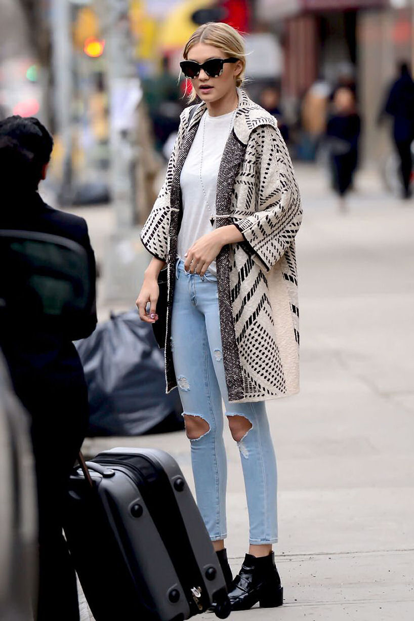 Gigi Hadid street style model fashion