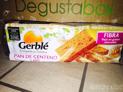 Gerblé Pan de centeno y miel  Caja Degustabox - Abril 2016