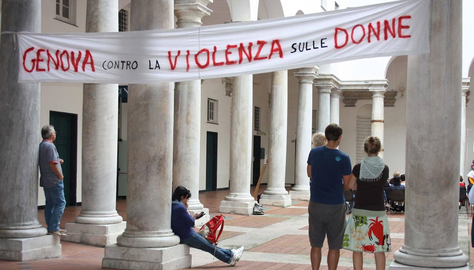 La Repetto Donne Diego Violenza Genova Sulle Contro Writer cUFWaHwq6