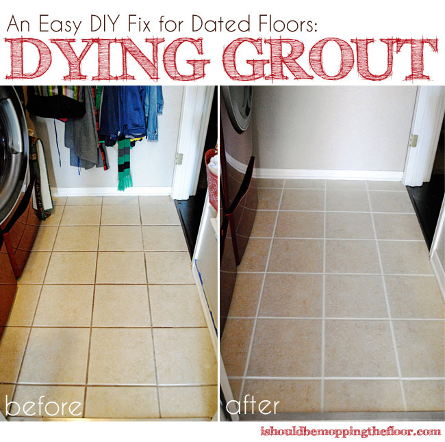 Change Grout Color with Polyblend Grout Renew
