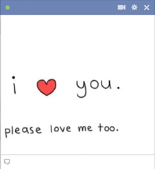Please Love Me Too Emoticon