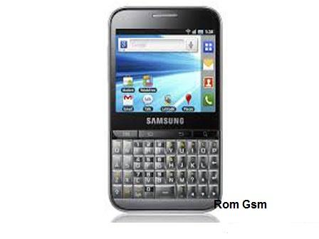 Firmware Download Samsung Galaxy Pro GT-B7510