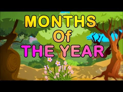 Months Of The Year Song | Kids Animation