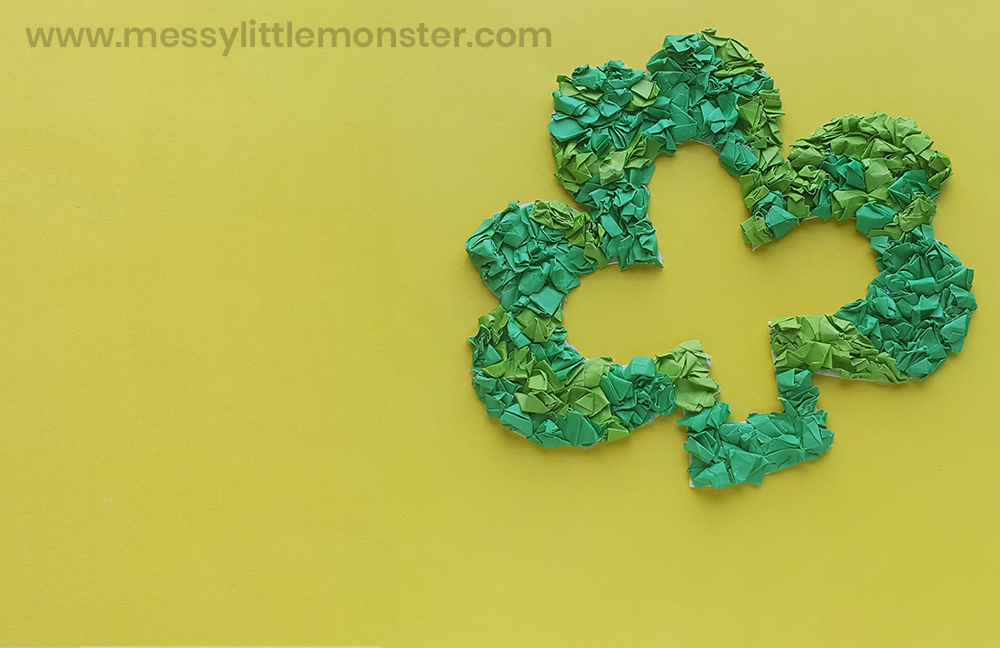 St Patricks day craft - shamrock