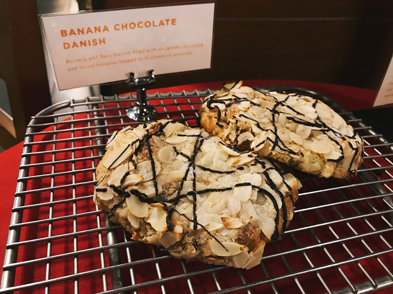Starbucks Banana Chocolate Danish