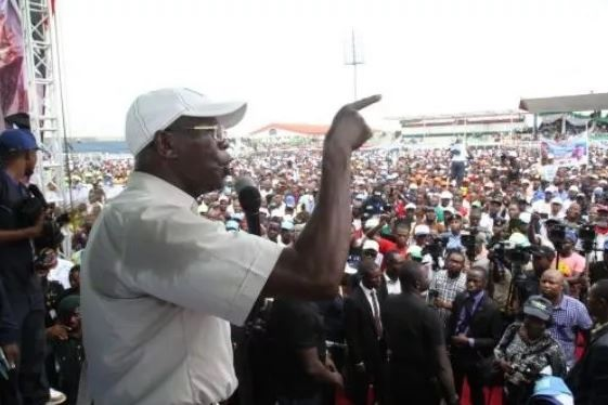 Edo 2016: PDP can only 'change the change' by bringing back 'mammy water' – Oshiomhole