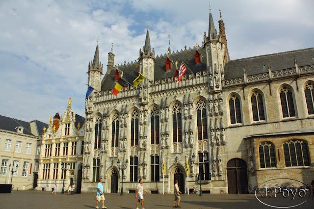Stadhuis en Brujas