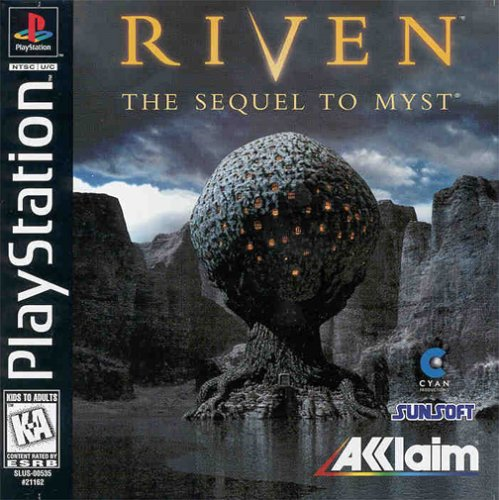 Riven - The Sequel To Myst  - PS1 - ISOs Download