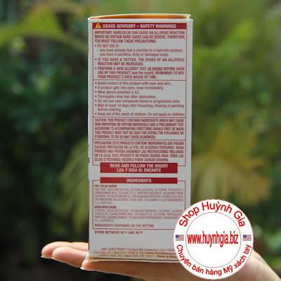 Thuốc nhuộm tóc Loreal Excellence Creme 6A hàng Mỹ phẩm xách tay từ Mỹ www.huynhgia.biz