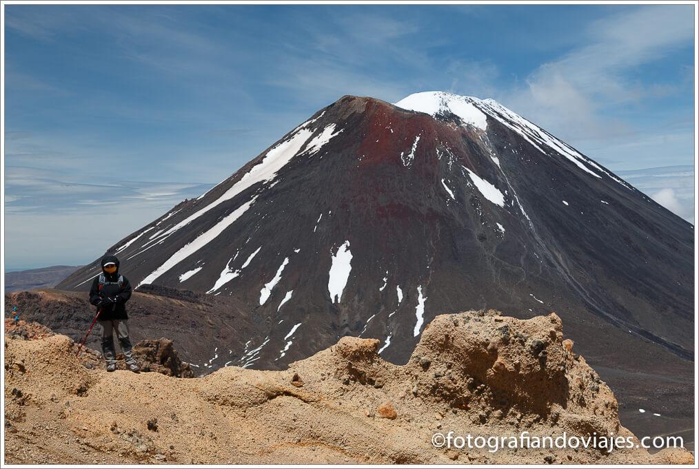Monte Ngauruhoe Tongariro Alpine Crossing