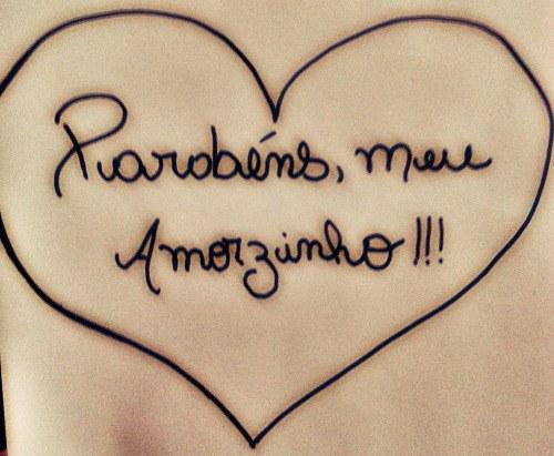 Feliz Aniversario Meu Amor Tumblr: Descobrindo Vida: Parabéns Amor #mensagens #álbum