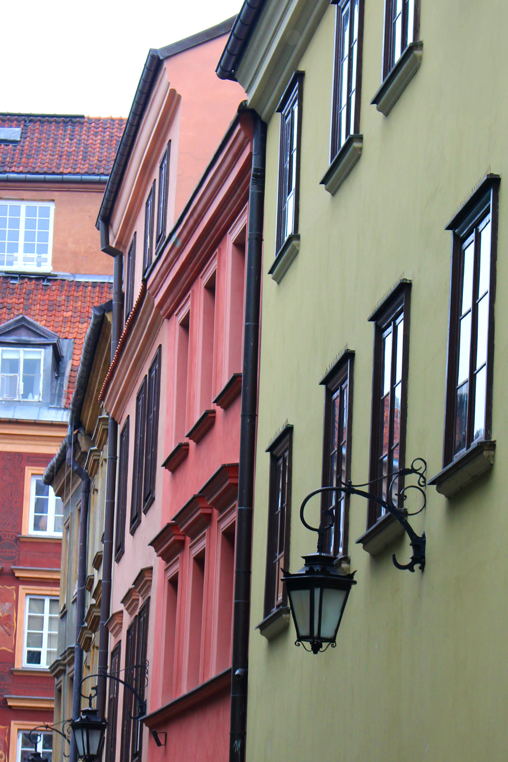 Pretty Warsaw Old Town - luxury travel blog
