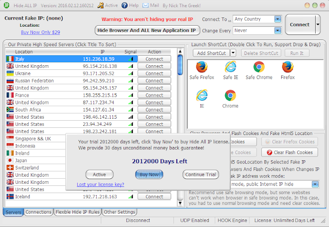 Hide ALL IP Full
