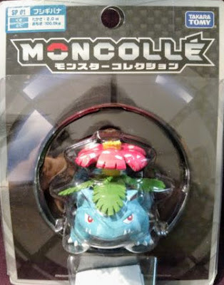 Venusaur figure Takara Tomy Monster Collection MONCOLLE SP series