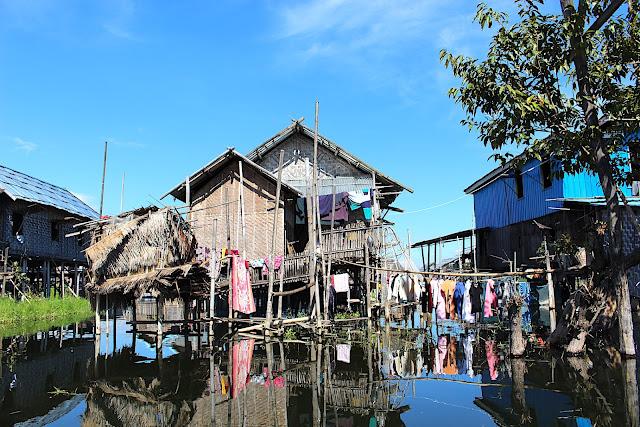 Jardins flottants de Kela sur le lac Inlé, Birmanie