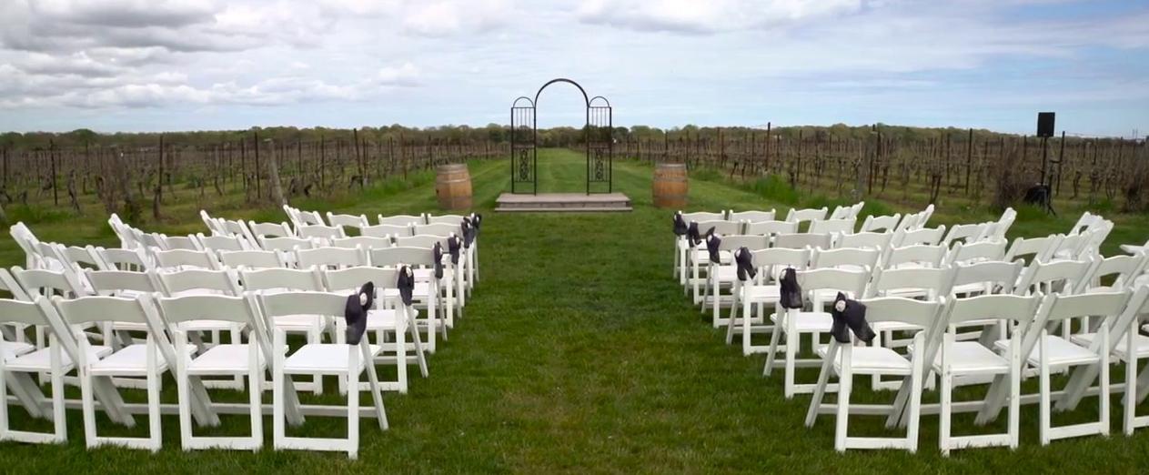 Saltwater Farm Vineyard Wedding Venues