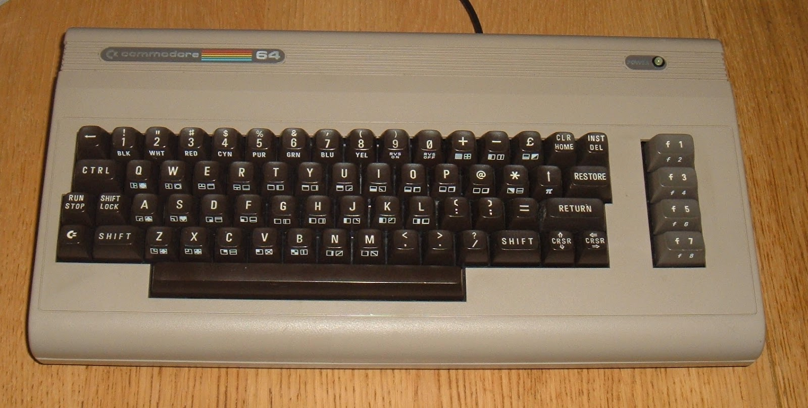 Tynemouth Software: Commodore 64 USB Keyboard with Mode Switch