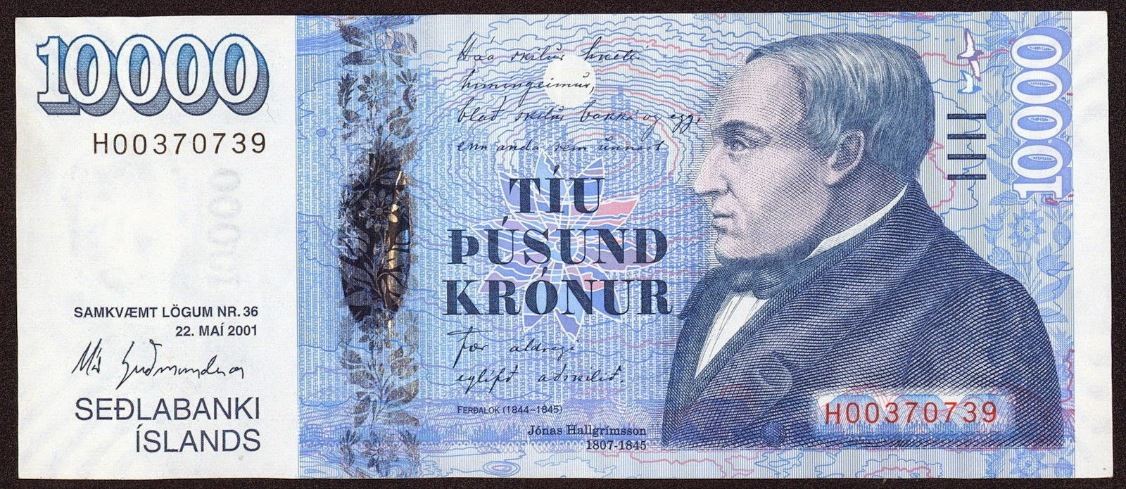 Picture Of Icelandic Krona Currency