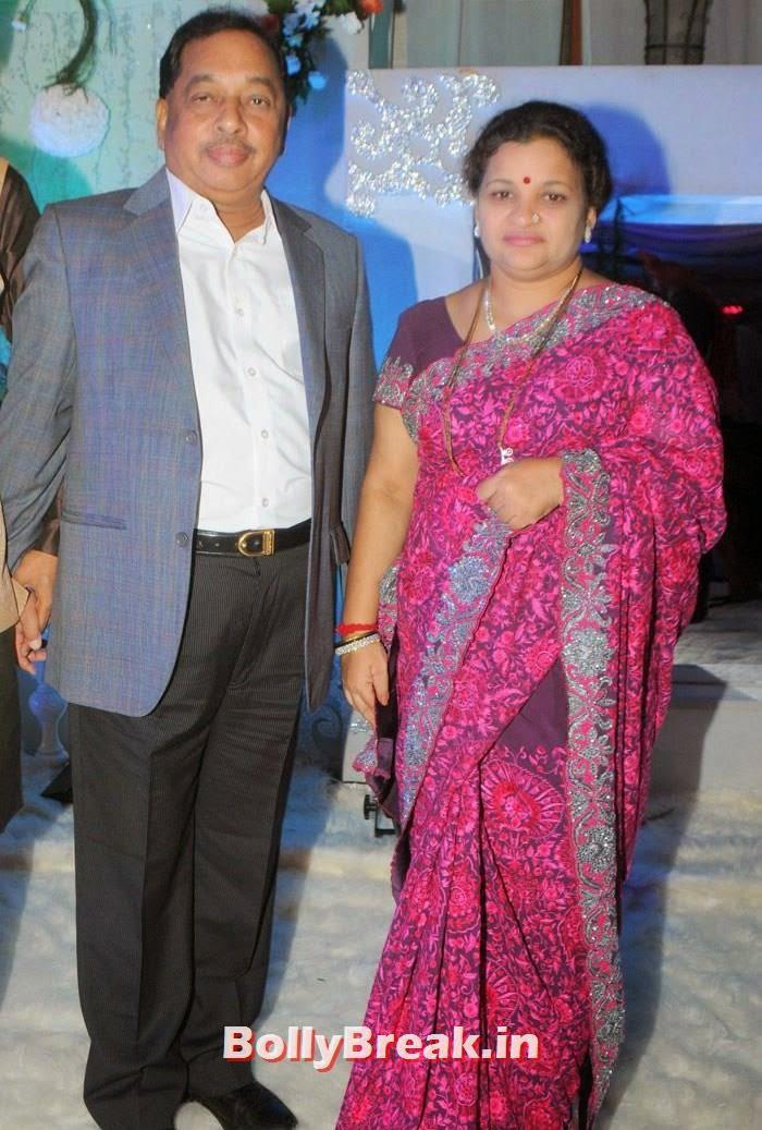 Narayan Rane, Neelam Rane, Manali Jagtap, Vicky Soor Engagement Ceremony Pics