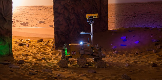 'Bridget' the rover. Credit: Airbus Defence and Space
