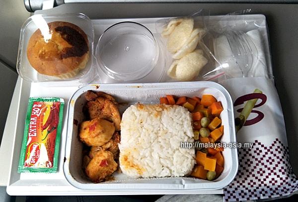 Meals on Batik Air