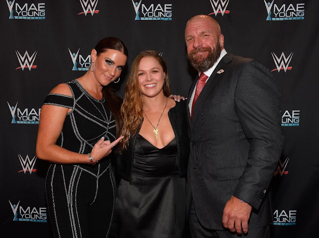 Ronda Rousey Makes WWE Debut After Women's Royal Rumble, Signs Full-Time Contract.  StrengthFighter.com