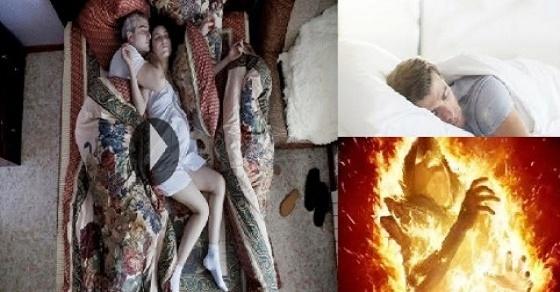 Astagfirullah!! Beginilah Posisi Orang Tidur Para Penghuni Neraka, Justru Banyak Orang Melakukannya…