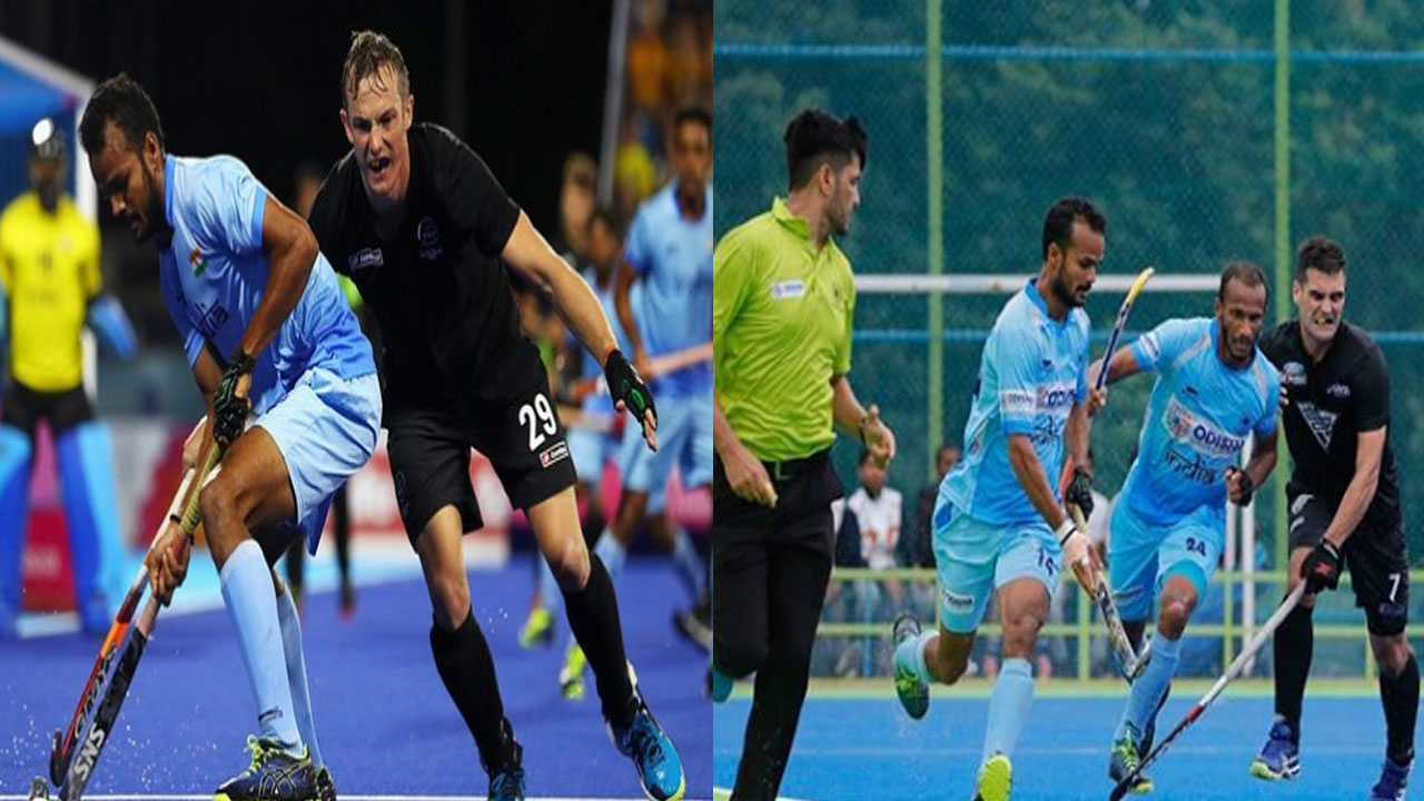 Hockey World Cup 2018 Canada vs India Unique best selfish Pose
