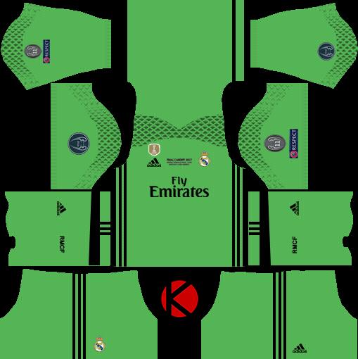 59765b0cd Real Madrid Kits UCL 2016/17 Final - Dream League Soccer - Kuchalana