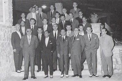 Fiesta final del Torneo Internacional de Ajedrez Tarragona 1960