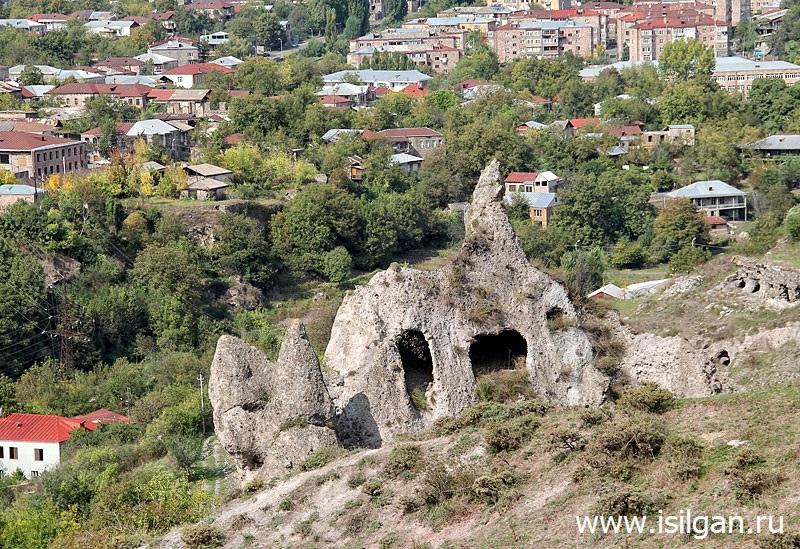 Каменный лес. Город Горис. Армения