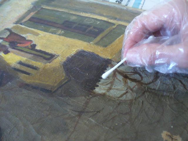 Guzsik Tabán festményrestaurálás