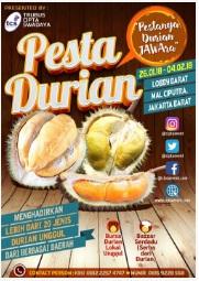 """acara bulan ini februari 2018 Pesta Durian """"Pestanya Durian JAWAra"""""""