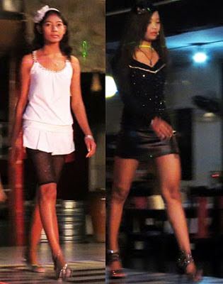 Pretty Ladies in Burma Nightlife