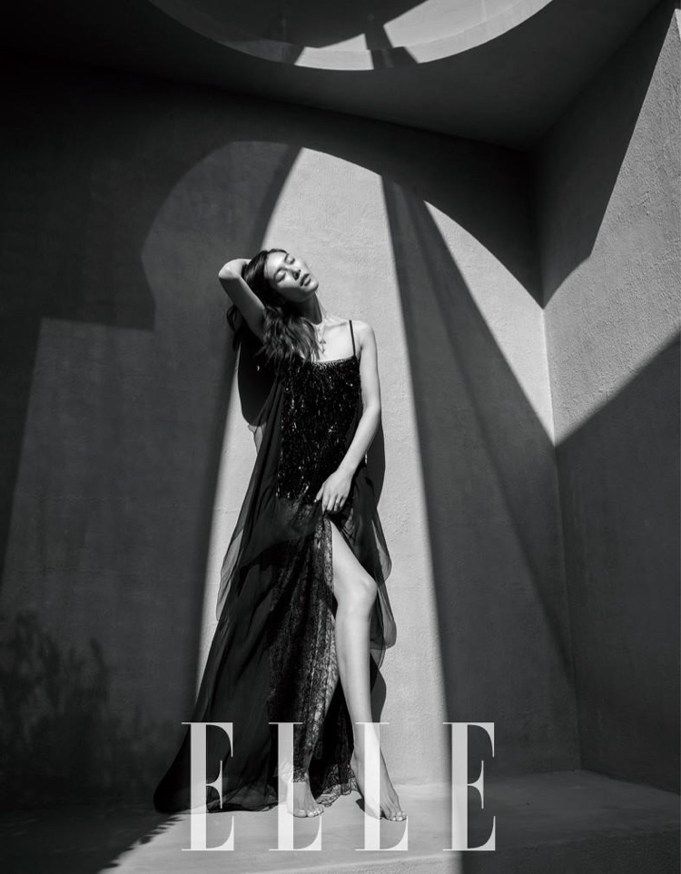 Liu Wen on ELLE China March 2017 Cover