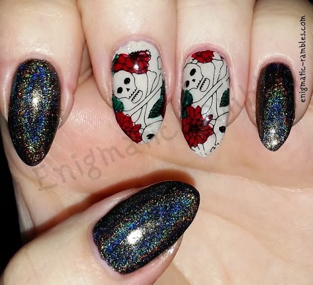 Skull-and-Crossbones-Stamped-Nails-Nail-Art