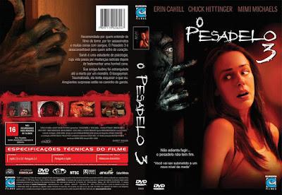 Filme O Pesadelo 3 DVD Capa