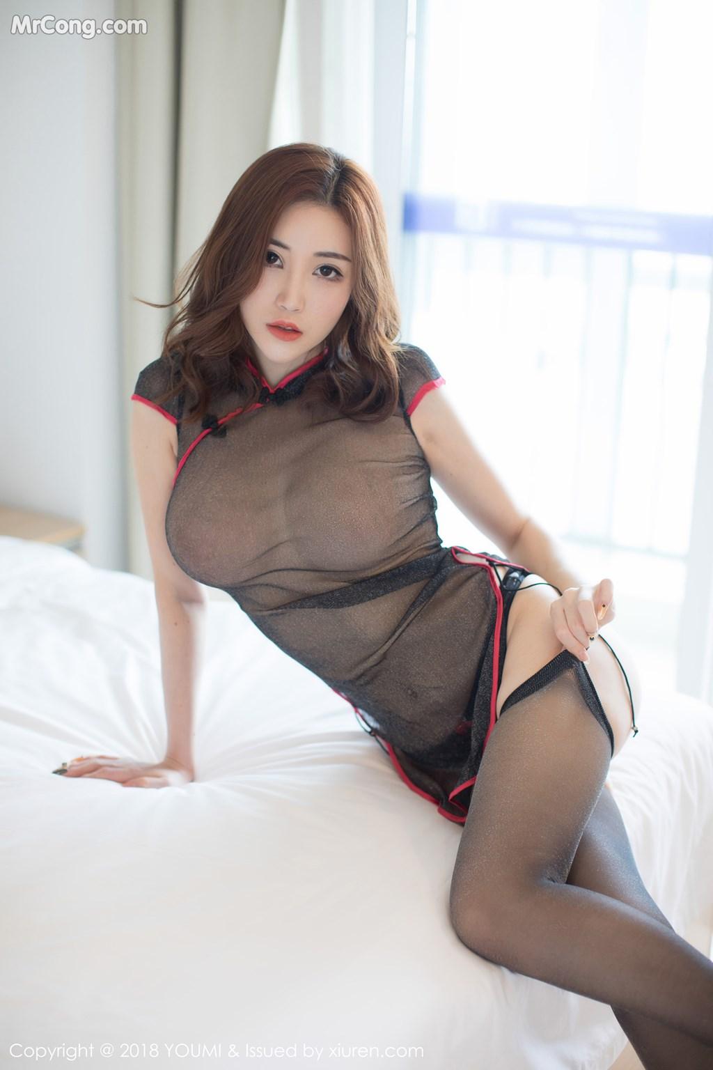 Image YouMi-Vol.236-Sun-Meng-Yao-V-MrCong.com-002 in post YouMi Vol.236: Người mẫu Sun Meng Yao (孙梦瑶V) (47 ảnh)