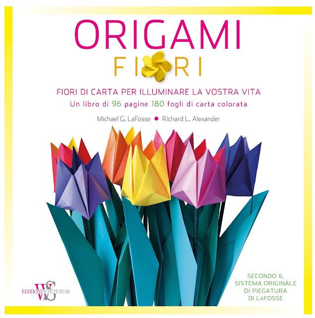 origami di fiori di carta