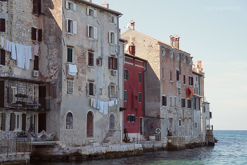 Beautiful city of Rovinj, Croatia (Istria) - The ideal Mediterranean destination for your next summer vacation at the sea side!