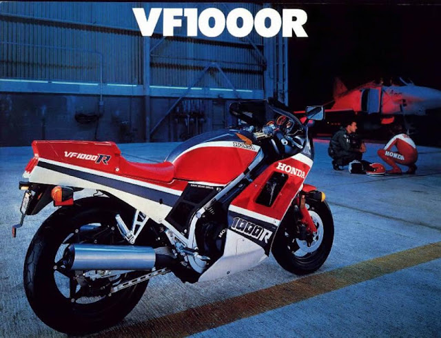 Honda VF1000R and Phantom F4