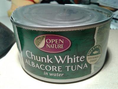 Albertson's Open Nature tuna